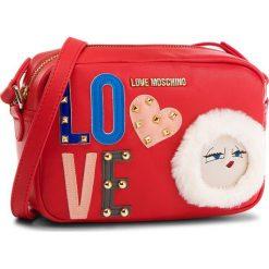 Torebka LOVE MOSCHINO - JC4271PP06KJ0500 Rosso. Czerwone listonoszki damskie Love Moschino, ze skóry ekologicznej. W wyprzedaży za 579.00 zł.