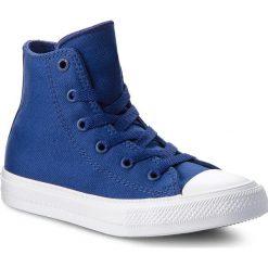 Trampki CONVERSE - Ctas II Hi 350146C Sodalite Blue/White/Navy. Kozaki damskie Converse, z gumy. W wyprzedaży za 149.00 zł.