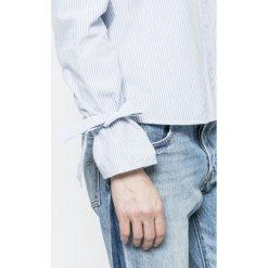 Vero Moda - Koszula Juljane. Szare koszule damskie Vero Moda, z długim rękawem. W wyprzedaży za 69.90 zł.