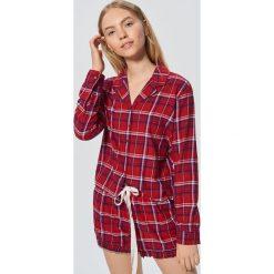 Dwuczęściowa piżama w kratę - Czerwony. Czerwone piżamy damskie Cropp. Za 89.99 zł.