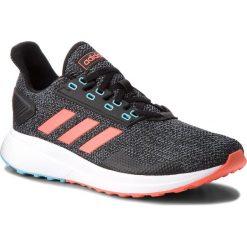 Buty adidas - Duramo 9 BB6919 Cblack/Solred/Grefou. Szare buty sportowe męskie Adidas, z materiału. W wyprzedaży za 209.00 zł.