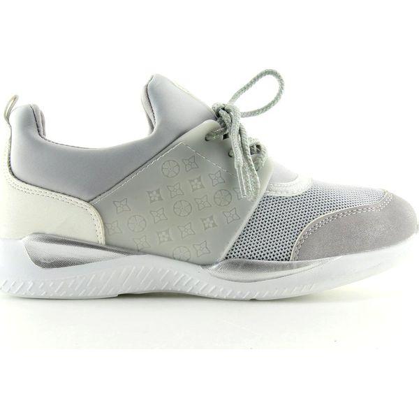 Ultra lekkie buty sportowe szare BY 069 Grey