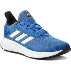 Buty adidas - Duramo 9 K BB7060 Blue/Ftwwht/Cblack. Niebieskie obuwie sportowe damskie Adidas, z materiału. W wyprzedaży za 149.00 zł.
