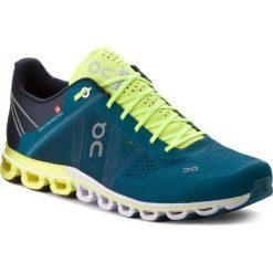 Buty ON - Cloudflow 000015 Petrol/Neon 4329. Zielone buty sportowe męskie On, z materiału. Za 649.00 zł.