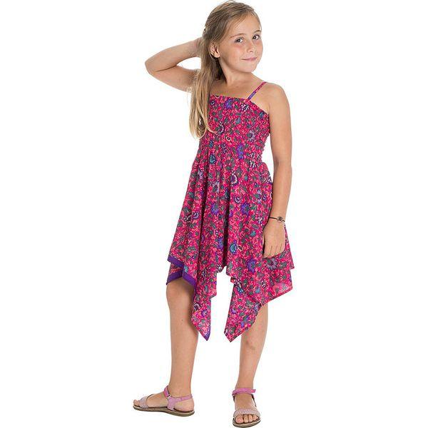 8d1ccaf467312f Sukienka w kolorze fioletowo-różowym - Sukienki dla dziewczynek ...