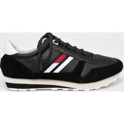 Tommy Jeans - Buty Retro Runner. Czarne buty sportowe męskie Tommy Jeans, z jeansu. W wyprzedaży za 399.90 zł.