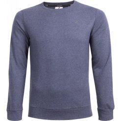 Bluza męska BLM600 - granatowy melanż - Outhorn. Niebieskie bluzy męskie Outhorn, na lato, melanż, z materiału. W wyprzedaży za 44.99 zł.