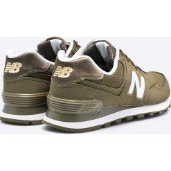 New Balance - Buty ML574SKG. Szare buty sportowe męskie New Balance, z materiału. W wyprzedaży za 219.90 zł.