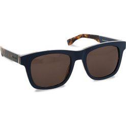 Okulary przeciwsłoneczne BOSS - 0337/S Mtblue Hvnbl U1F. Niebieskie okulary przeciwsłoneczne damskie Boss. W wyprzedaży za 419.00 zł.