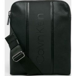 Calvin Klein - Saszetka. Czarne saszetki męskie Calvin Klein, z materiału. Za 329.90 zł.