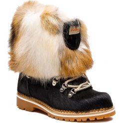 Śniegowce MONTELLIANA - Seicento M17493 Black. Czarne kozaki damskie Montelliana, z polaru. Za 2,200.00 zł.