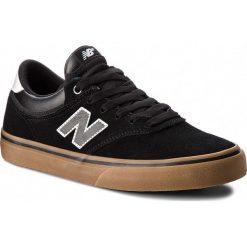 Tenisówki NEW BALANCE - NM255BKG Czarny. Czarne trampki męskie New Balance, z gumy. W wyprzedaży za 279.00 zł.