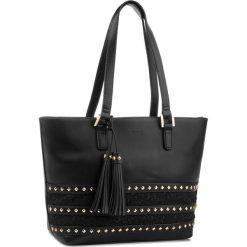Torebka MONNARI - BAG3290-020 Black. Czarne torebki do ręki damskie Monnari, z materiału. W wyprzedaży za 199.00 zł.