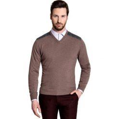 Sweter FABRIZIO K SWK000068. Swetry przez głowę męskie marki Giacomo Conti. Za 199.00 zł.