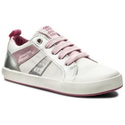 Geox Tenisówki Dziewczęce Gisli 31 Białe. Białe buty sportowe dziewczęce Geox. W wyprzedaży za 119.00 zł.