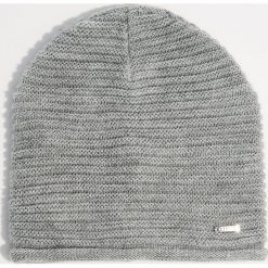 Czapka - Jasny szar. Szare czapki i kapelusze damskie Mohito. Za 29.99 zł.