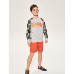 Bluza z raglanowym rękawem - Jasny szar. Bluzy dla chłopców Reserved. W wyprzedaży za 29.99 zł.