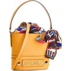 Torebka LOVE MOSCHINO - JC4040PP17LD0400 Giallo. Żółte torebki do ręki damskie Love Moschino, ze skóry ekologicznej. Za 719.00 zł.