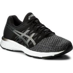 Buty ASICS - Gel-Exalt 4 T7E0N Dark Grey/Black/White 9590. Czarne buty sportowe męskie Asics, z materiału. W wyprzedaży za 289.00 zł.