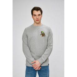Dickies - Bluza. Szare bluzy męskie Dickies, z nadrukiem, z bawełny. W wyprzedaży za 119.90 zł.
