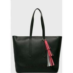 Calvin Klein - Torebka Pop. Szare torby na ramię damskie Calvin Klein. Za 629.90 zł.
