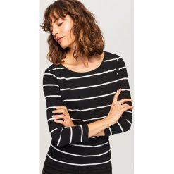 T-shirt z bawełny organicznej - Wielobarwn. Brązowe t-shirty damskie Reserved, z bawełny. Za 29.99 zł.