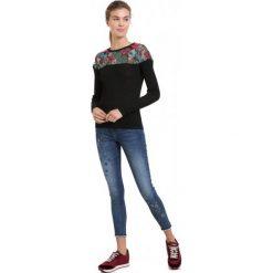 Desigual Sweter Damski Tulipan M, Czarny. Czarne swetry damskie Desigual, z materiału. Za 499.00 zł.