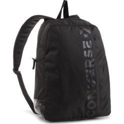 Plecak CONVERSE - 10008286-A01 A01. Czarne plecaki damskie Converse, z materiału, sportowe. W wyprzedaży za 119.00 zł.