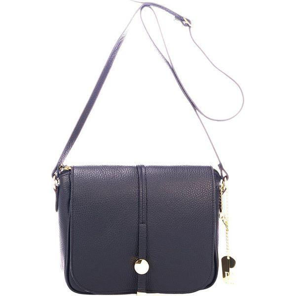 a59b26f68934e Skórzana torebka w kolorze czarnym - 23 x 25 x 7 cm - Torby na ramię ...