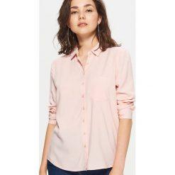 Gładka koszula - Różowy. Czerwone koszule damskie Cropp. Za 49.99 zł.