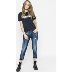 Diesel - Jeansy Belthy-ankle. Niebieskie jeansy damskie Diesel. W wyprzedaży za 539.90 zł.