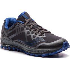 Buty SAUCONY - Peregrine 8 Gtx GORE-TEX S20454-1 Blk/Gry/Blu. Czarne buty sportowe męskie Saucony, z gore-texu. Za 649.00 zł.