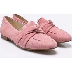 Vagabond - Baleriny Eliza. Różowe baleriny damskie Vagabond, z materiału. W wyprzedaży za 269.90 zł.