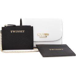 Duży Portfel Damski MY TWIN - RS8TCV  Bic Ottic 01045. Białe portfele damskie My Twin, ze skóry ekologicznej. W wyprzedaży za 229.00 zł.