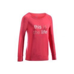 Koszulka długi rękaw Gym & Pilates 500 damska. Koszulki sportowe damskie marki WED'ZE. W wyprzedaży za 27.99 zł.