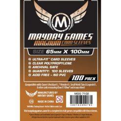 Koszulki Magnum Cooper 65x100 (100szt) - (173207). Brązowe t-shirty i topy dla dziewczynek Mayday. Za 14.04 zł.