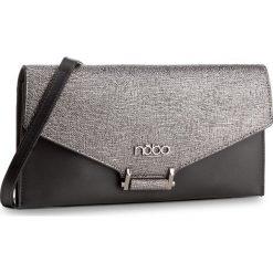 Torebka NOBO - NBAG-D3411-C020 Czarny Ze Srebrnym. Czarne torebki do ręki damskie Nobo, ze skóry ekologicznej. W wyprzedaży za 109.00 zł.