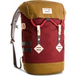 Plecak DOUGHNUT - D104-9714-F Wine X Khaki. Czerwone plecaki damskie Doughnut, z materiału. Za 429.00 zł.