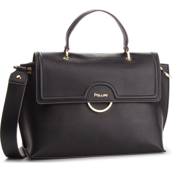 2b4ed0b9521f3 Torebka POLLINI - SC4517PP06SB0000 Nero - Czarne torebki do ręki ...