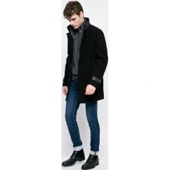 Trussardi Jeans - Płaszcz. Szare płaszcze męskie TRUSSARDI JEANS, z bawełny. W wyprzedaży za 1,199.00 zł.