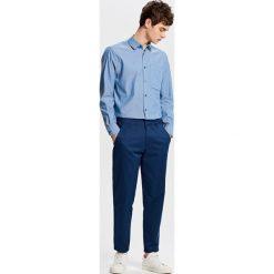 Bawełniana koszula - Niebieski. Koszule dla chłopców marki bonprix. W wyprzedaży za 39.99 zł.