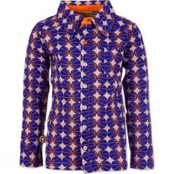 """Koszula """"Take Me Out To The Ballgame"""" w kolorze niebieskim ze wzorem. Koszule dla chłopców marki bonprix. W wyprzedaży za 102.95 zł."""