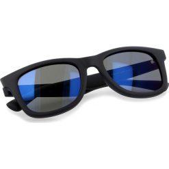 Okulary przeciwsłoneczne BOSS - 0213/S Matt Blue LDT. Niebieskie okulary przeciwsłoneczne damskie Boss. W wyprzedaży za 449.00 zł.