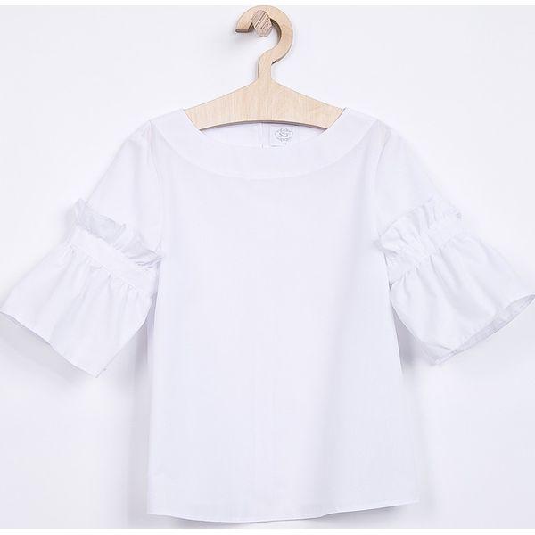 dad671d35d203a Sly - Top dziecięcy 134-164 cm - Białe t-shirty i topy dla dziewczynek SLY,  bez wzorów, z bawełny, bez ramiączek. W wyprzedaży za 59.90 zł.