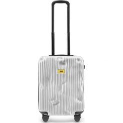 Walizka Stripe kabinowa Bianco White. Białe walizki męskie Crash Baggage. Za 1,049.00 zł.