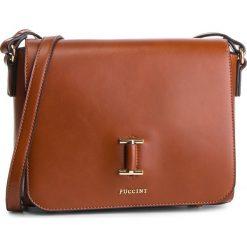 Torebka PUCCINI - BT28596  Brąz 2. Brązowe torebki do ręki damskie Puccini, ze skóry ekologicznej. W wyprzedaży za 188.00 zł.