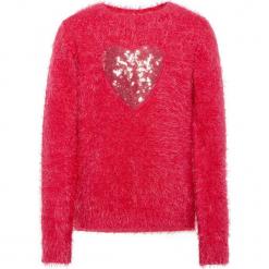 """Sweter """"Sofia"""" w kolorze czerwonym. Swetry dla dziewczynek marki bonprix. W wyprzedaży za 82.95 zł."""