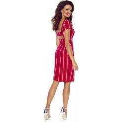 185cae0783 Sukienka odsłonięte plecy b-87. Czerwone sukienki damskie marki Berg