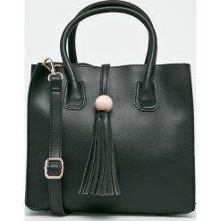 Answear - Torebka. Brązowe torby na ramię damskie ANSWEAR. W wyprzedaży za 69.90 zł.