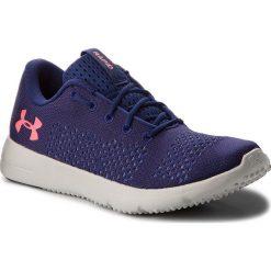 Buty UNDER ARMOUR - Ua W Rapid 1297452-401 Blu. Niebieskie obuwie sportowe damskie Under Armour, z gumy. W wyprzedaży za 169.00 zł.